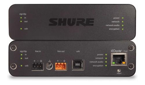 Imagen 1 de 3 de Interface De Audio Shure Aniusb Matrix Interfaz Conferencias