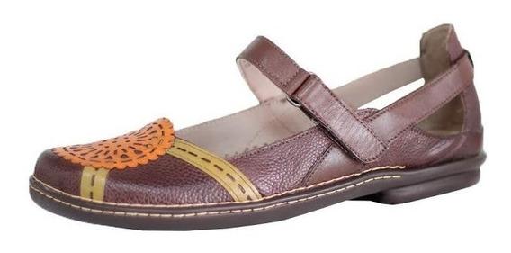 Sapato Confort Boneca J. Gean Estilo Retrô Vintage 0214