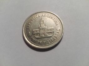 Moneda 25 Centavos 1993 Variante Torre Y Puerta Angostas