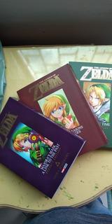 Zelda Mangá Livro Ocarina Manjora Mask Oracle Of Seasons Age