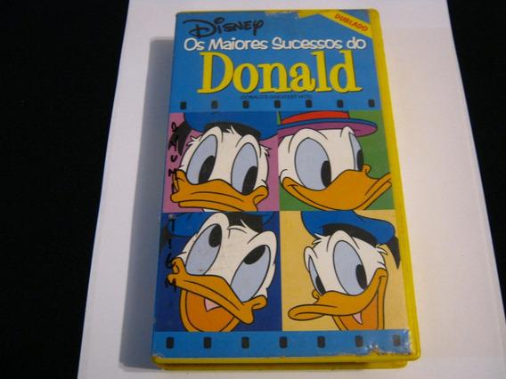 Fita Vhs Donald Walt Disney Filme Infantil Dublado
