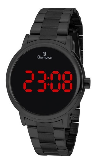 Relógio Feminino Champion Digital Ch40115d - Preto