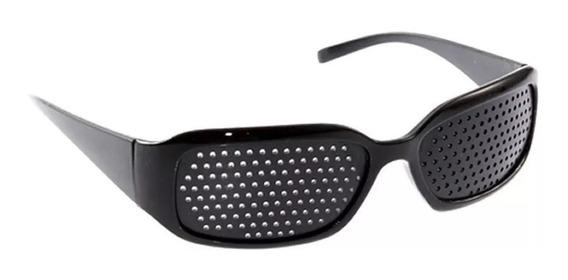 2 Pz Lentes Rejilla Gafas Reticulares Pinhole Terapeutico