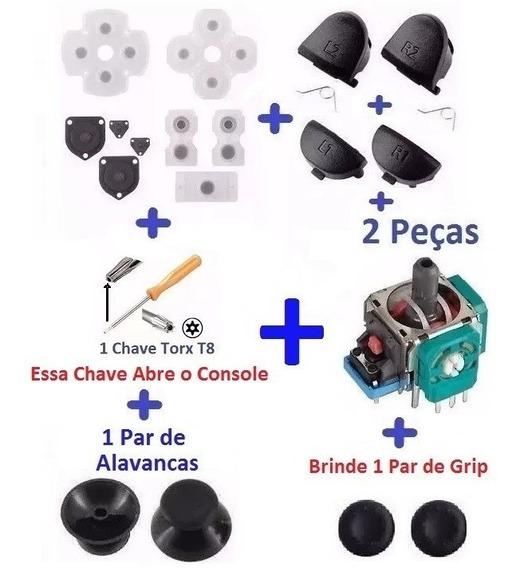 Ps4 - Super Kit Reparo Controle Ps4 + Frete R$ 15,80