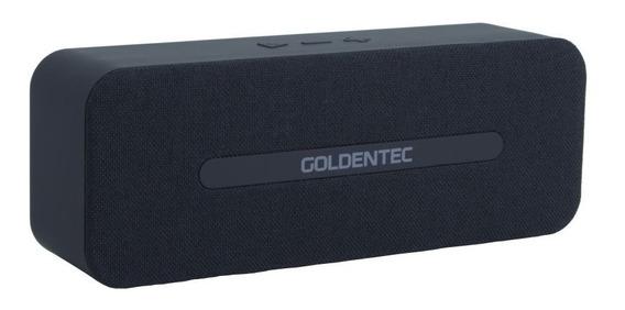 Caixa De Som Bluetooth 6w Rms Goldentec Gt Soundsync - Preta