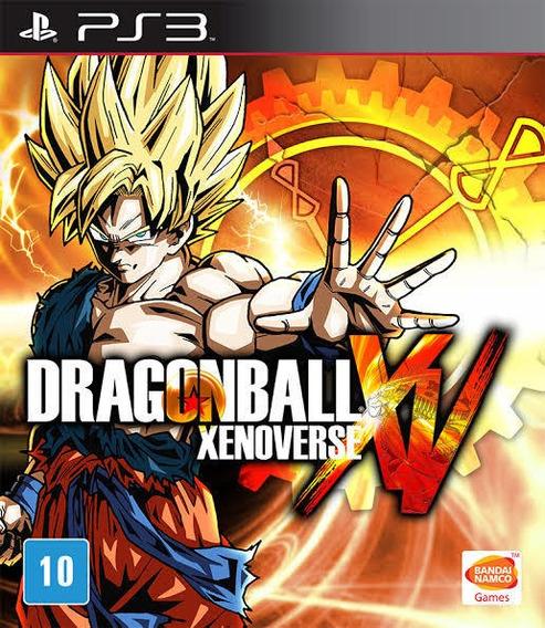 Dragon Ball Xenoverse Dbz Português Ps3 Mídia Física