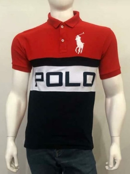Playera Tipo Polo Talla M Lote De 7