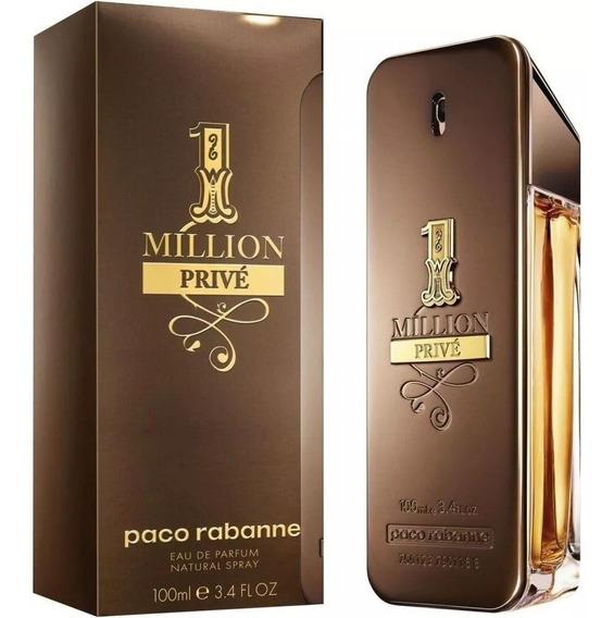 Perfume Paco Rabanne 1 Million Privé Masc Edp 100ml+ Amostra