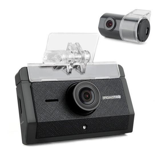 Câmera Veicular Kit Completo Iroad T8 S2 Gps Wifi, Gaja-tec