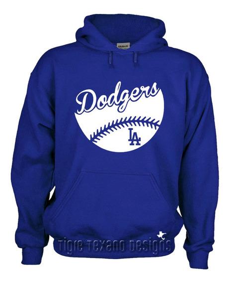 Sudadera Dodgers Los Angeles Mod. N By Tigre Texano Designs