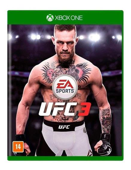 Ufc 3 - Xbox One - Novo - Lacrado