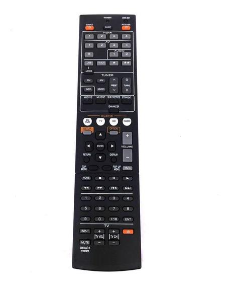 Controle Remoto P/ Vários Recivers Yamaha, Modelo Rav491