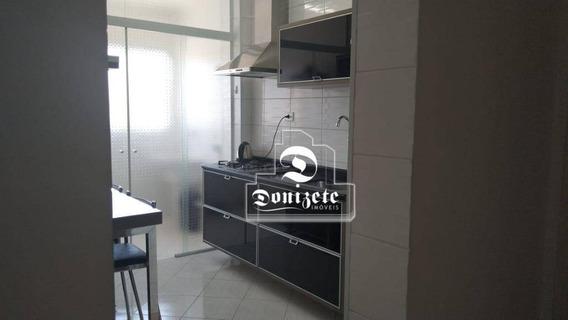 Apartamento Com 1 Dormitório À Venda, 48 M² Por R$ 260.000,00 - Campestre - Santo André/sp - Ap13929