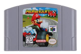 Cartucho Para Nintendo 64 N64 Mario Kart