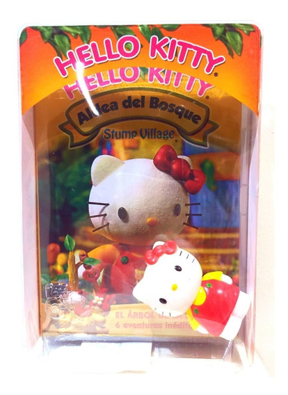 Hello Kitty El Arbol De La Sabiduria Dvd + Figura Sanrio
