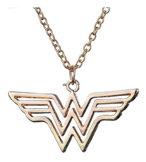 Collar Pendiente Logo Wonder Woman