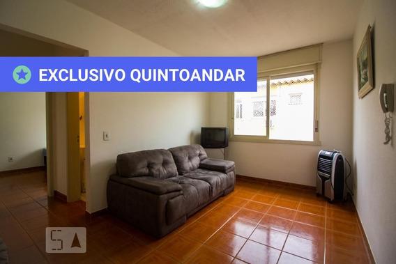 Apartamento No 4º Andar Mobiliado Com 1 Dormitório - Id: 892968686 - 268686