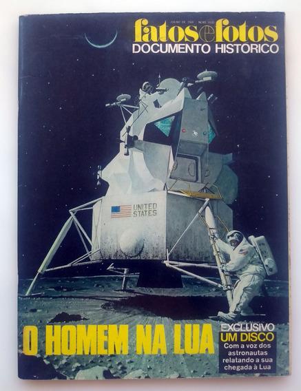 Revista Fatos E Fotos O Homem Na Lua 1969