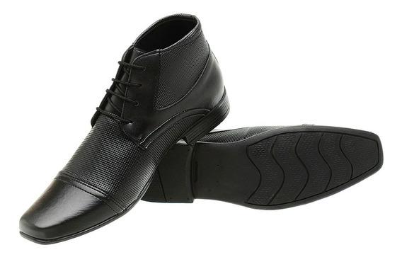 Sapato Social Masculino Botinha Alta Qualidade Promoção 1081