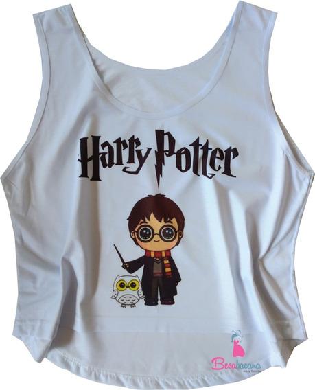Blusa Feminina Harry Potter Always Regata Cavada Promoção!
