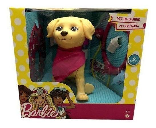 Boneca Barbie - Pet Da Barbie Veterinária - Pupee 1250