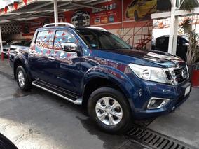 Nissan Np300 Frontier Le Doble Cabina Std 6vel 2018 Azul