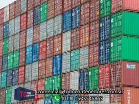 Contenedores Maritimos Containers Usado Obrador 40 San Juan