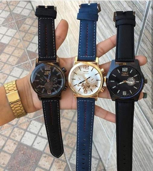 Kit 10 Relógios Masculino Vários Modelos Atacado Revenda.