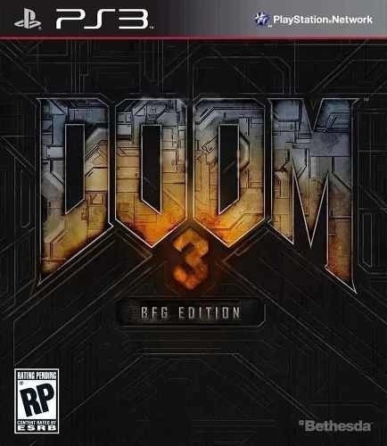 Doom 3 Bfg Edition 3 Jogos + Dlc - Jogos Ps3 Psn