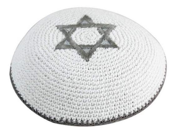 Kippah Kippot Tejida Importada De Israel.