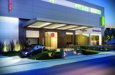 Aparthotel Com 1 Dormitório À Venda, 19 M² Por R$ 296.000 - Blend Hotel, Setor Marista, Goiânia - Ho0004