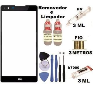 Vidro Tela S/ Touch LG X Power K220 Dsf K220dsf Cola Uv