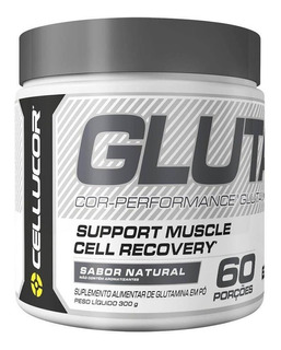 Glutamine Cellucor 5 G Glutamina Em Pó Pura Cor-performance
