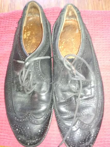 Zapatos De Vestir Negros Talle 42-43