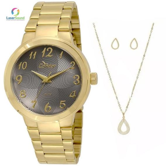 Relógio Condor Feminino Kit Co2036kov/k4c, C/ Garantia E Nf