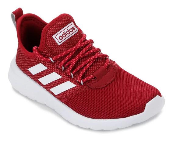 Tênis adidas Lite Racer Rbn Feminino - Vermelho E Branco