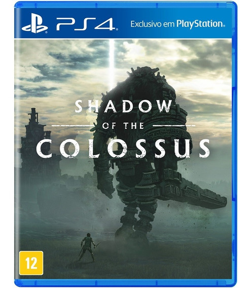 Game Ps4 Lacrado - Mídia Fisica - Shadow Of Colossus