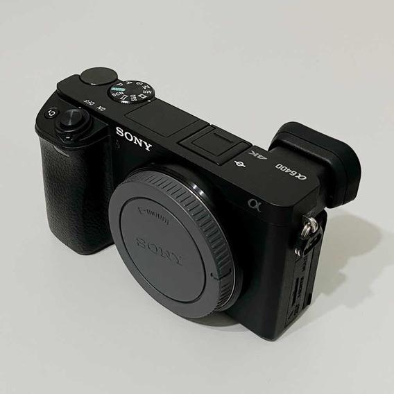 Sony A6400 Melhor Preço Do Ml - Câmera Para Live E Youtube