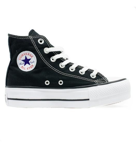 Tênis Converse Chuck Taylor All Star Hi Plataforma Preto