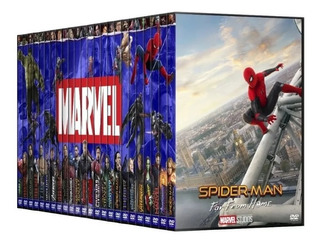 Dvd - Marvel Mcu Colección // 23 Films / Incl: Far From Home