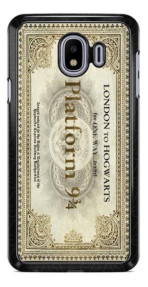 Funda Case Potter Boleto Galaxy J2 A70 S8 Prime Neo Pro Ymas