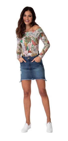 Saia Curta Jeans Colcci 008.01.03186