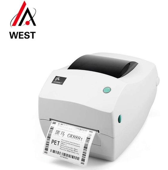 Impressora Térmica Zebra Gk 888t Térmica Aceita Ml_nova_b2w