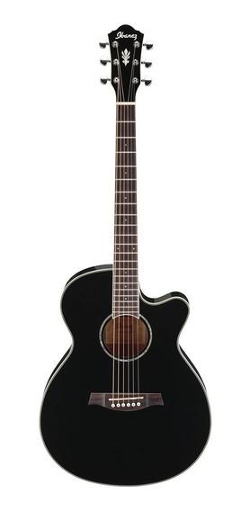Guitarra Electro Acustica Ibanez Aeg10 Fishman Negro