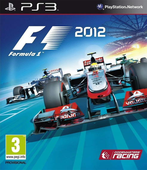 F1 2012 - Ps3 - Mídia Física