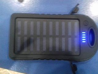Power Bank (cargador Portatil) 12000mah. Linterna, Probador