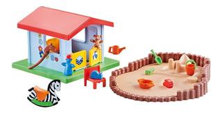 Playmobil 9814 Plaza Con Casa + Arenero Nuevo Bolsa Sellada