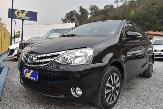Etios Sedán 1.5 Platinum Sedan 16v Flex 4p Manual