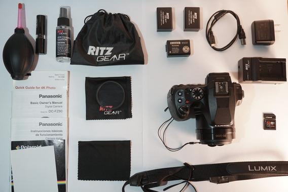 Kit Com Cámera Panasonic Lumix Dc-fz80 Digital