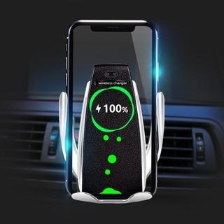 Carregador Veicular Wireless Qi Sem Fio Movimento Automatic